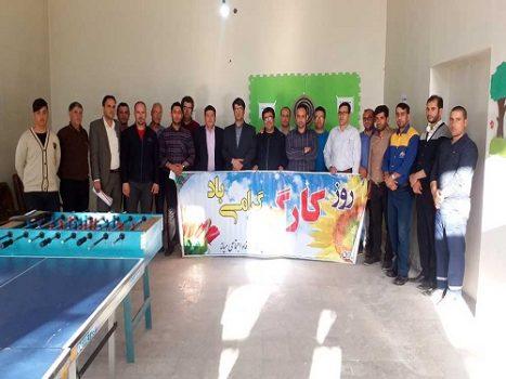 گزارش تصویری از مسابقه دارت کارکنان اداره گاز شهرستان میانه بمناسبت روز کارگر