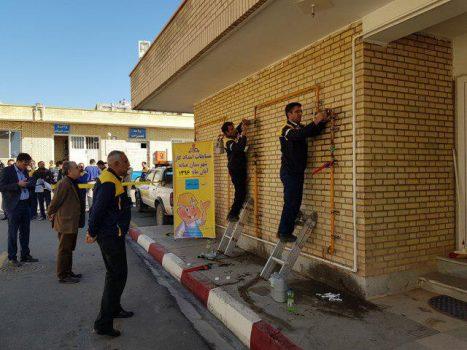 مسابقات امدادی و عملیاتی گاز در میانه برگزار شد