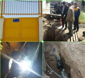 راه اندازی ایستگاه تقلیل فشار گاز مسکن مهر شهرک اندیشه