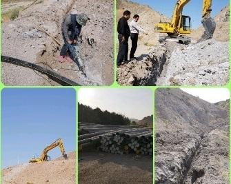 تدوام گازرسانی به واحدهای صنعتی و روستاهای مسیر جاده ترانزیت شهر میانه-تبریز