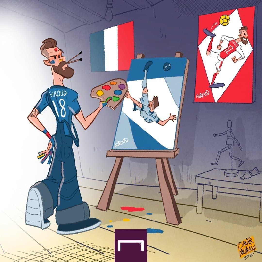 کاریکاتور ژیرومهجم فرانسوی