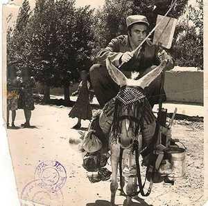 خر سواری جوانان تهرانی در قدیم