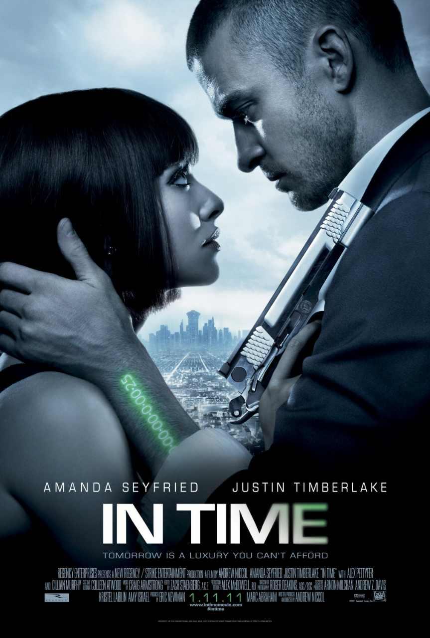 دانلود فیلم اکشن In Time (2011)با زیرنویس فارسی چسبیده