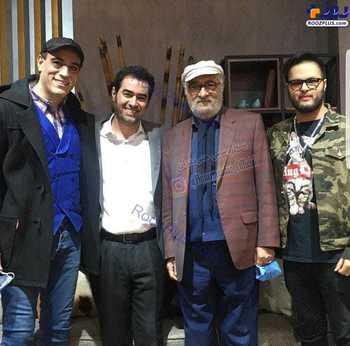 شهاب حسيني و داروش ارجمند در يک عکس