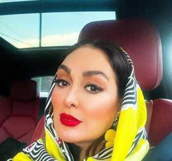 مدل آرايش الهام حميدي بازيگر سينما