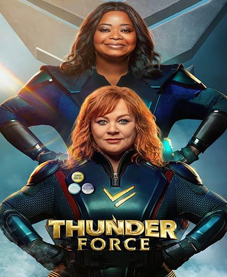 فیلم نیروی تندر دوبله فارسی Thunder Force 2021