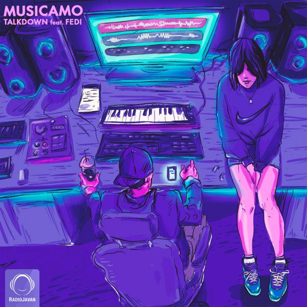 دانلود آهنگ جدید تاک داون و فدی به نام موزیکامو + متن آهنگ