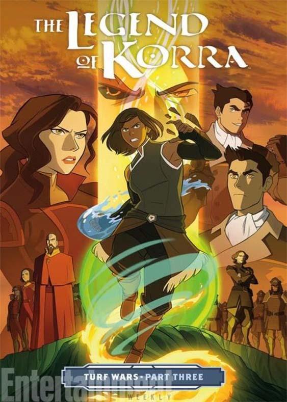 دانلود انیمیشن سریالی افسانه کورا The Legend of Korra