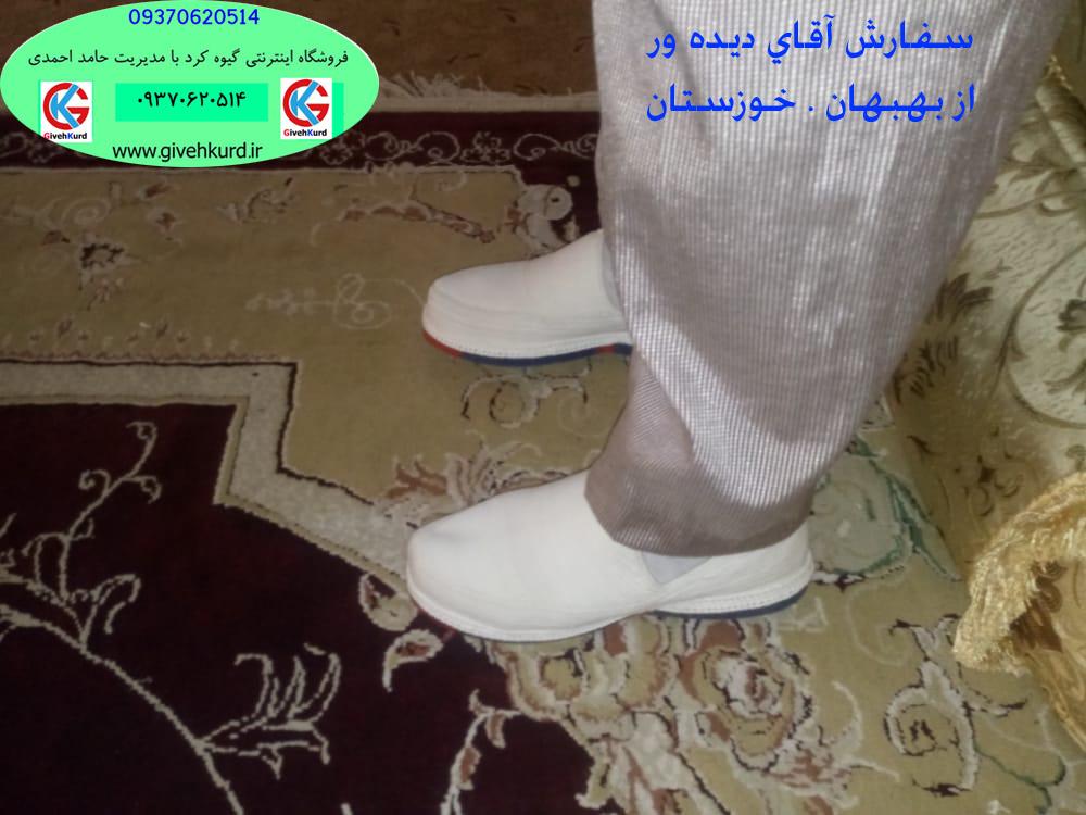 گیوه کلاش کردستان . سفارش آقای دیده ور از بهبهان . خوزستان