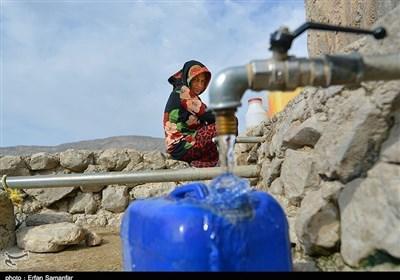 چشیدن طعم شیرین آب در روستاهای ماهنشان
