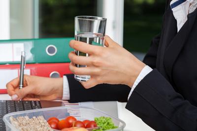 افزایش وزن, پشت میز نشینی
