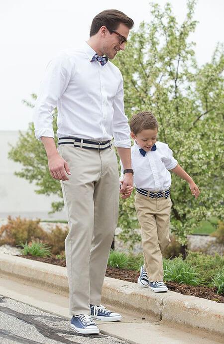 ست لباس پدر پسری