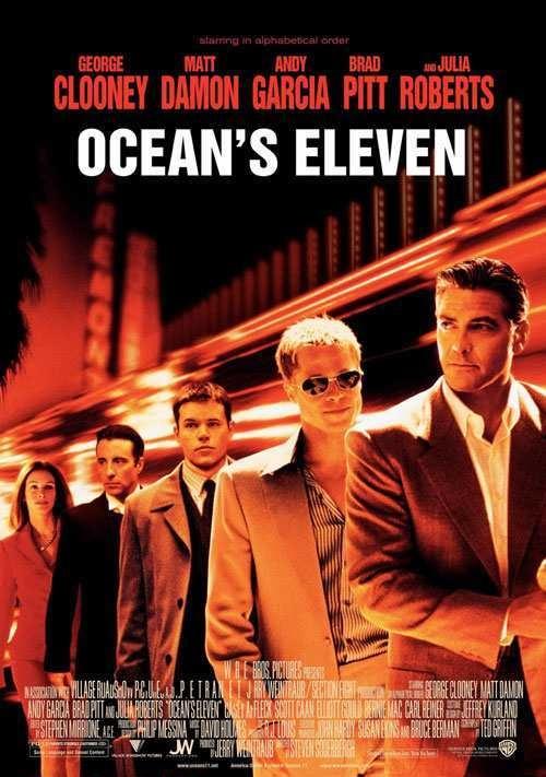 دانلود فیلم یازده یار اوشن Ocean's Eleven 2001