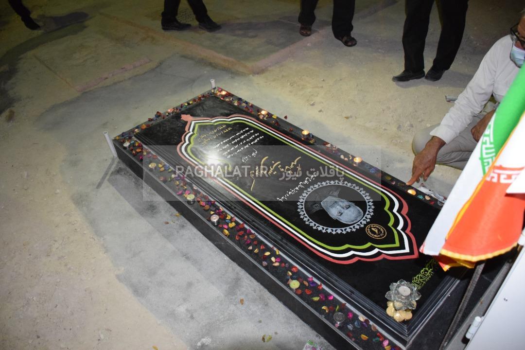 مراسم اولین سالگرد درگذشت پاسدار و جانباز هشت سال دفاع مقدس کربلایی یعقوب پیشاهنگ