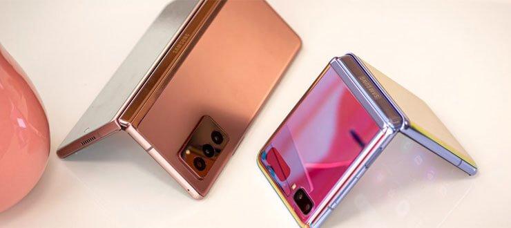 اندازه نمایشگرهای گوشی های سامسونگ گلکسی Z fold 3 و گلکسی Z Flip 3 فاش شد