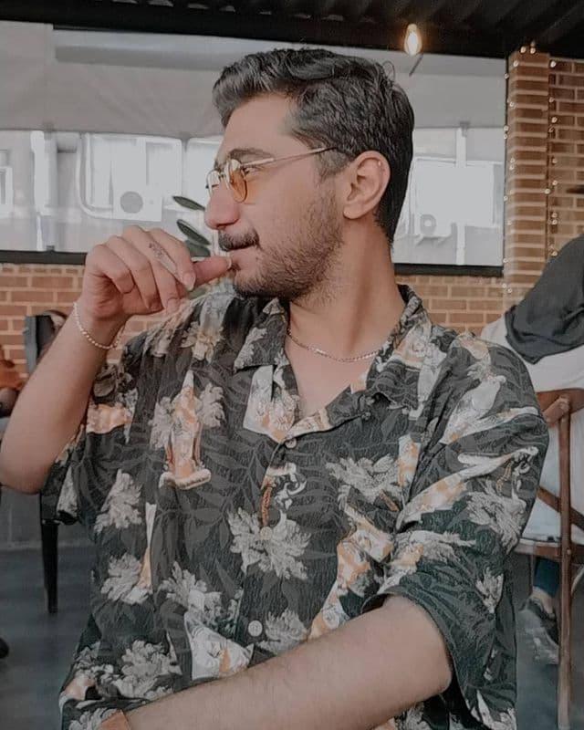 حمید رشید بازیگر نقش آرش در سریال زندگی زیباست