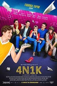دانلود فیلم ترکی 4N1K چهار پسر و یک دختر