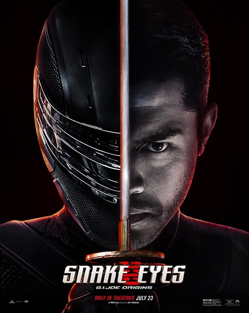 دانلود فیلم اکشن Snake Eyes: G.I. Joe Origins 2021