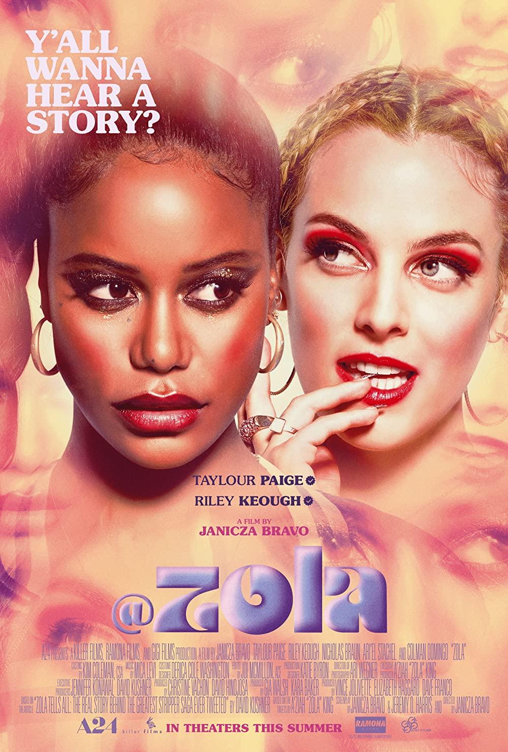 دانلود فیلم Zola 2020 با زیرنویس چسبیده