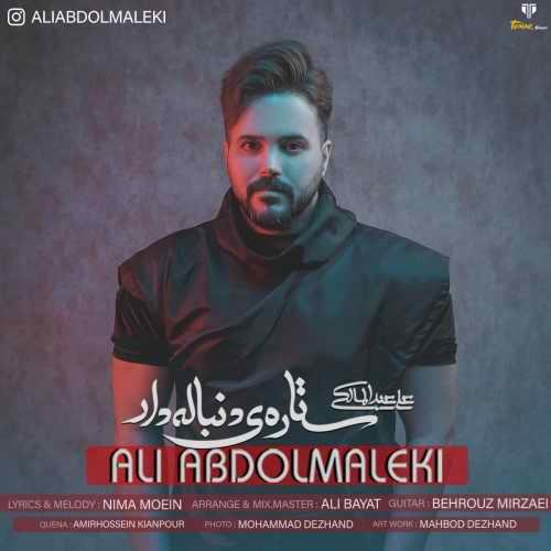 نسخه بیکلام آهنگ ستاره ی دنباله دار از علی عبدالمالکی