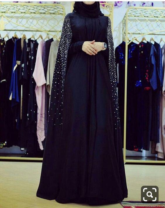 مدل مانتو مشکی برای مراسم ختم