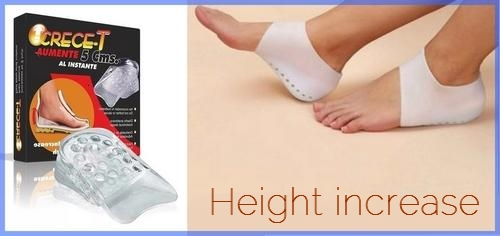 جوراب کفی افزایش قد سیلیکونی