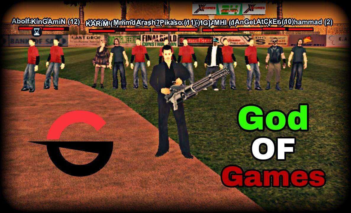 سرور سمپ GOD OF Games