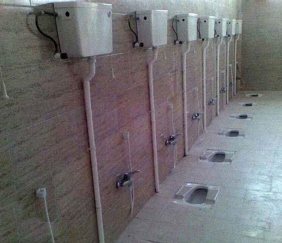 دستشویی به این باحالی دیده بودین تا حالا خخخخخ