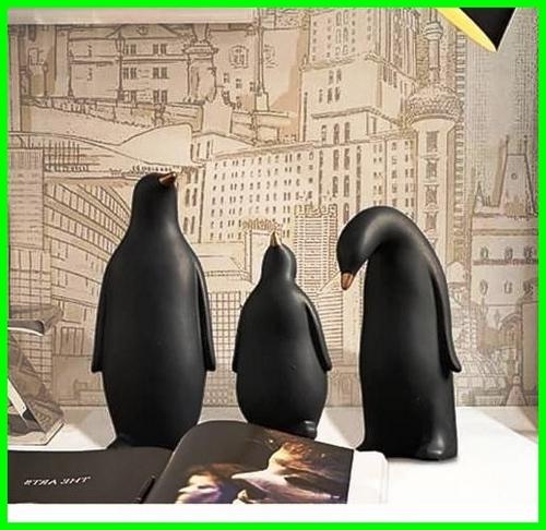 دکوری جذاب ست خانواده پنگوئن