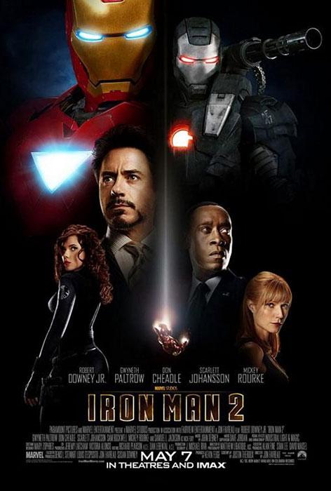 دانلود فیلم مرد آهنی 2 Iron Man محصول سال 2010 با دوبله فارسی