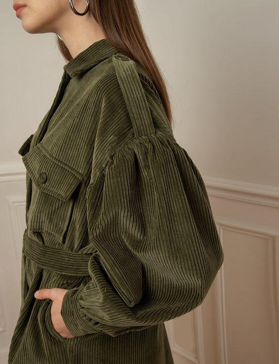 مدل مانتو مخمل کبریتی اینستاگرام