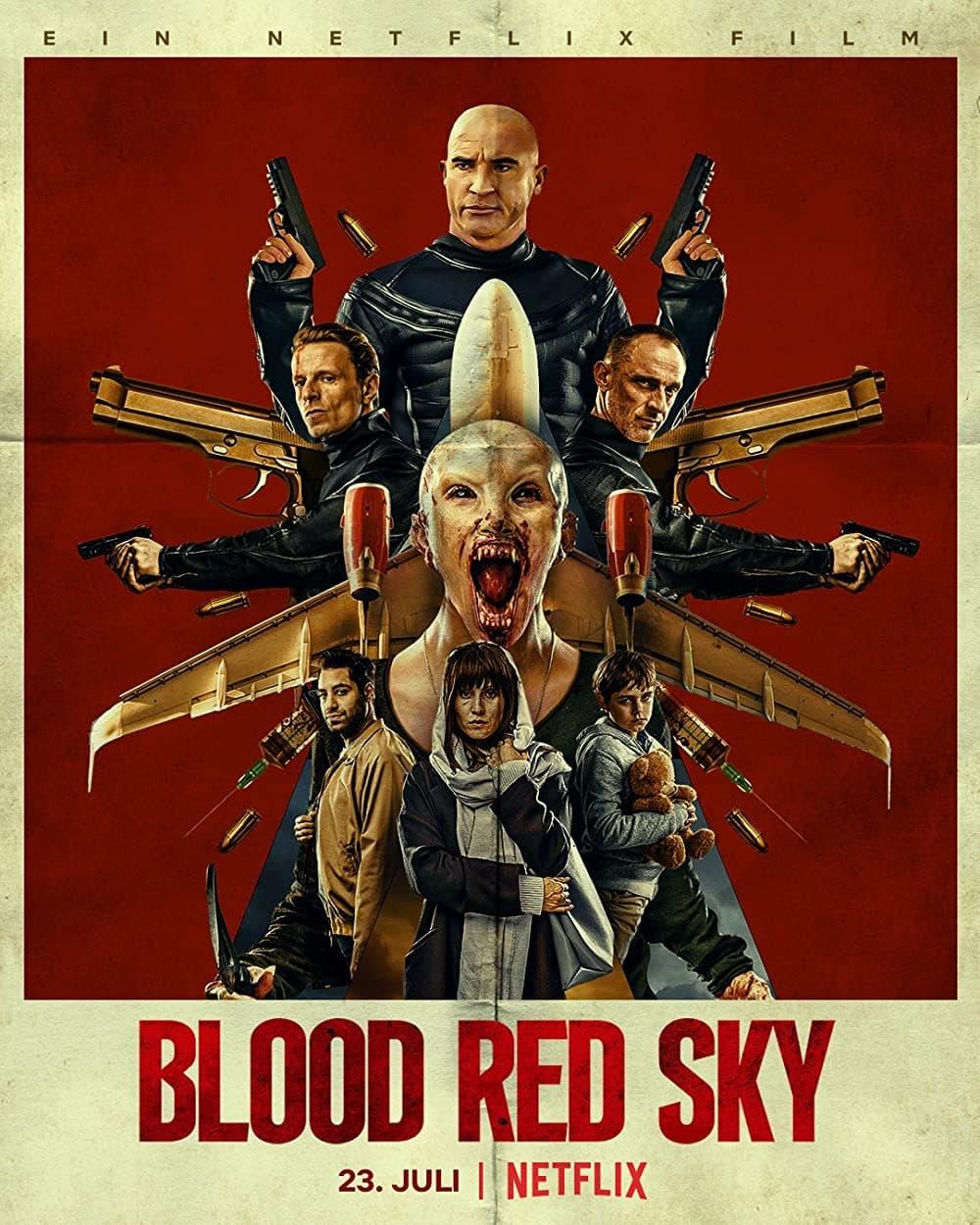 فیلم آسمان سرخ خونین دوبله فارسی 2021
