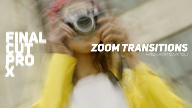 Motion Zoom Transitions FCPX & Apple Motion Templates free download