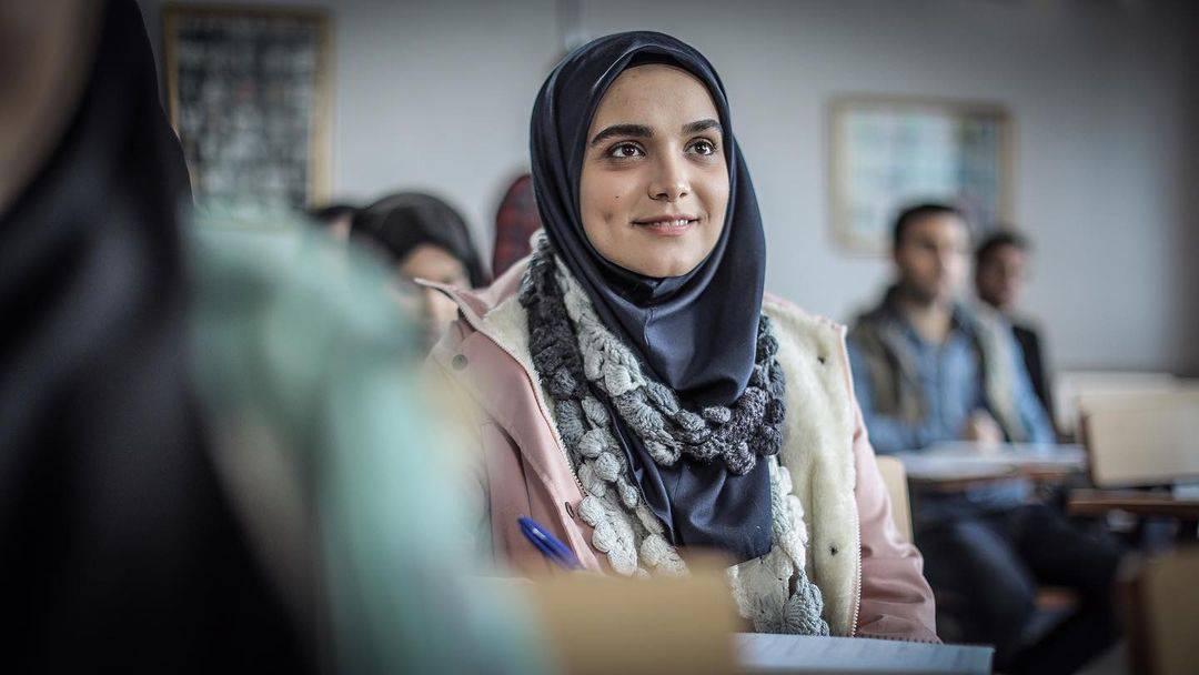 عکس سارا باقری بازیگر نقش مائده در سریال افرا