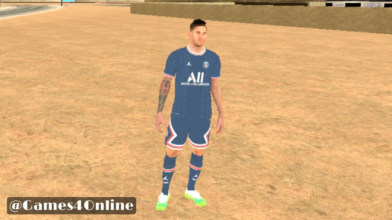 مد اسکین Messi 2021 برای Gta:Sa