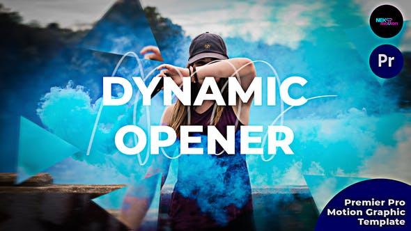 پروژه آماده پریمیر رایگان : Videohive 33970703 Dynamic Opener