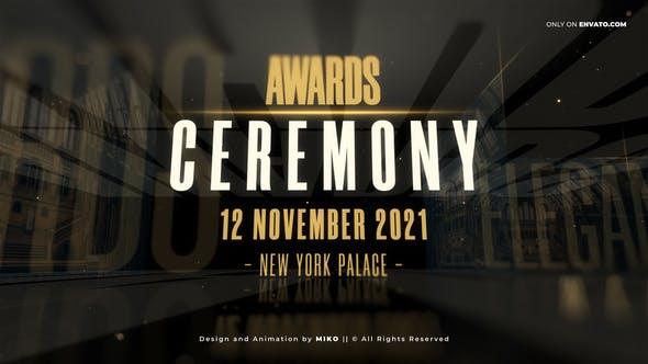 پروژه آماده افترافکت رایگان : Awards Promo Video Assets