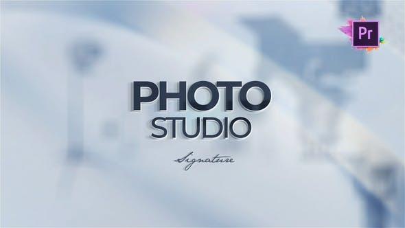پروژه آماده پریمیر تبلیغ آتلیه عکاسی