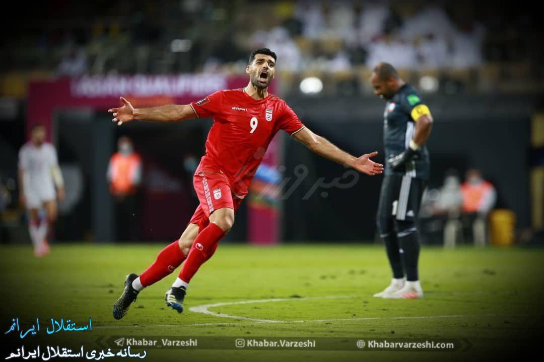 یکه تازی یوزها  با گل طارمی در راهیابی به جام جهانی 2022 قطر