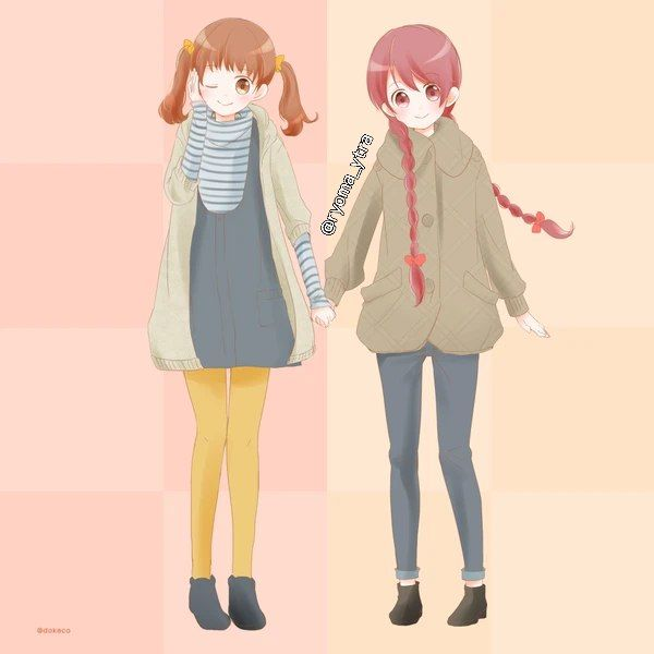 Sakuno and tomoka
