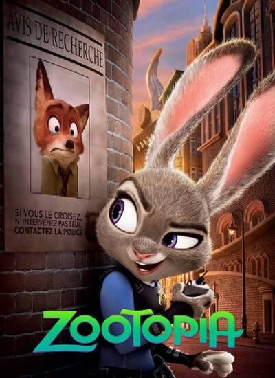 دانلود انیمیشن شهر وحش Zootopia با دوبله فارسی
