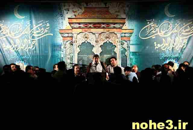 حاج محمد رضا طاهری شب ۸ رمضان ۹۴