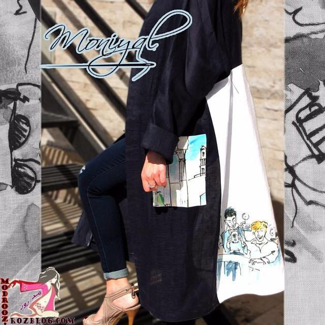 مدل مانتو تابستانی دخترانه 94