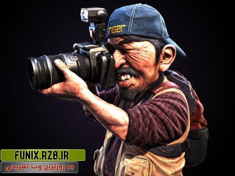عکاس پانارومیک توپ! + فیلم