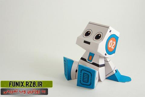 میکرو ربات کاغذی + فیلم