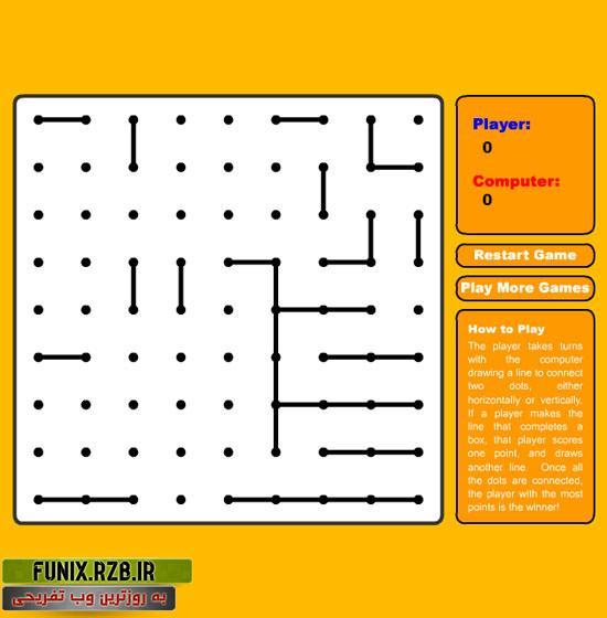 بازی آنلاین نقطه بازی