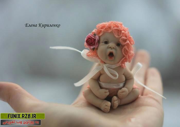 تصاویری از عروسک های بند انگشتی