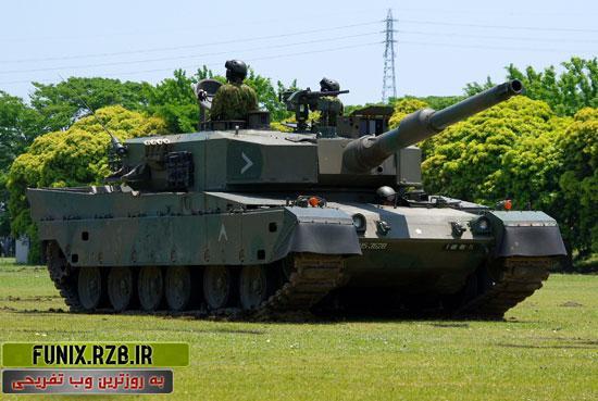 تانک Type90، سامورایی ژاپنی ها