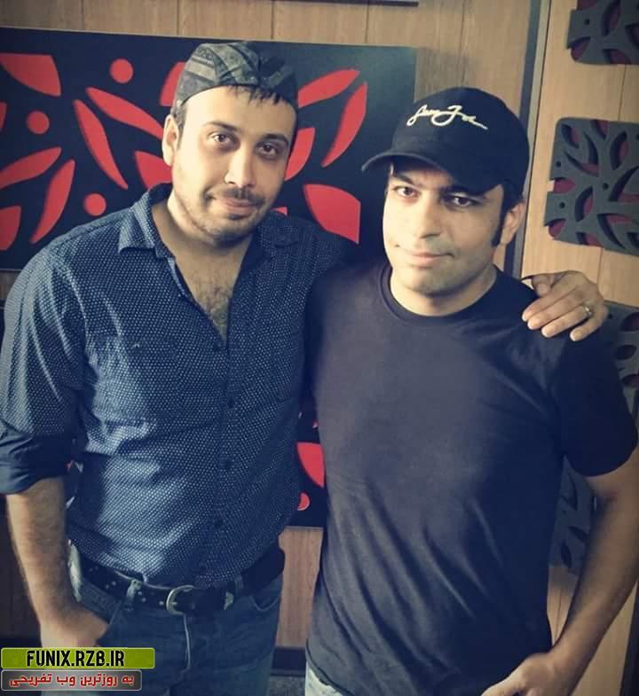 عکس جدید محسن چاوشی و بهنود فدوی