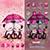 دانلود تم عاشقانه Pink Love برای آندروید 2.3 و بالاتر